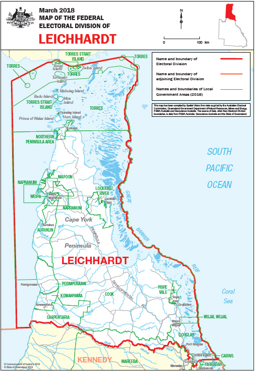 Leichhardt Map